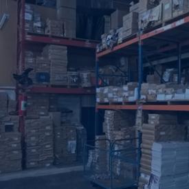 ESTOCAGEM<br /><br />Galpão com grande capacidade de armazenamento.
